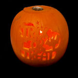 Trick or treat pumpkin Stock Image