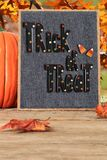 Halloween trick or treat royalty free stock photography