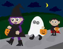 Trick or Treating Royalty Free Stock Photo