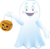 Trick or Treating Ghost Stock Photos