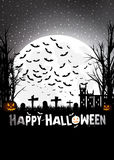 Trick or treating on Halloween Royalty Free Stock Images