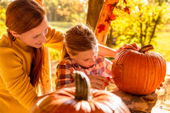 Trick-or-treating Royalty Free Stock Photos