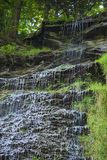 Trickling деталь водопада Стоковое Фото