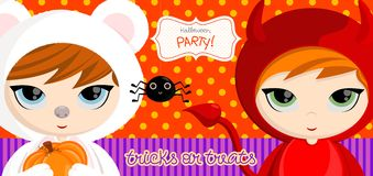 Tricks_devil Foto de Stock