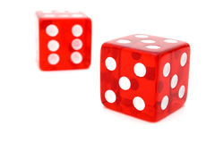 Tricky dice Royalty Free Stock Photos