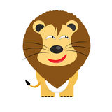 Tricky lion cartoon character Royalty Free Stock Photos