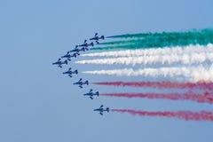 tricolor αεροπλάνων Στοκ Φωτογραφία