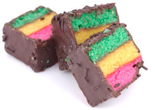 Tricolor Cookies stock photography