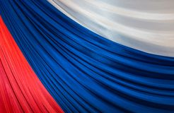Tricolor de la Federación Rusa Fotografía de archivo