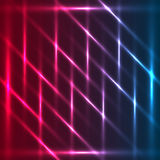Tricolor diagonals abstract glowing background Stock Photos