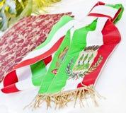 Tricolor Flagge Lizenzfreies Stockfoto