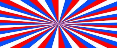 tricolor Fondo astratto con il colore della bandiera della Russia royalty illustrazione gratis