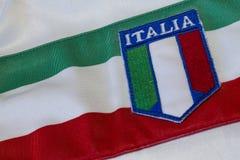 Tricolor italiano Foto de archivo libre de regalías