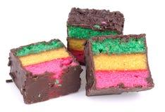 tricolor kakor Fotografering för Bildbyråer