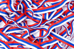 Tricolor ribbon Royalty Free Stock Image