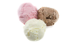 Tricolor scoops Stock Image