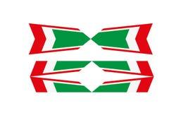 Tricolore stock de ilustración