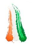 Tricolore indien Image libre de droits