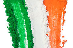 Tricolore indien Photo libre de droits