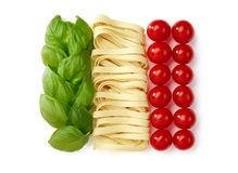 Tricolore, italian food Royalty Free Stock Photo