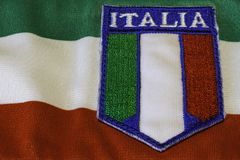 Tricolore italien Photos stock