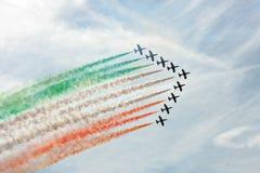 tricolori frecce Стоковое фото RF