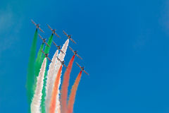 Tricolors arrows Royalty Free Stock Photos