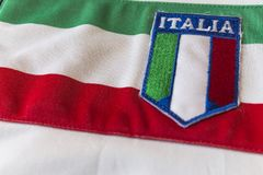 Tricolr italien photographie stock