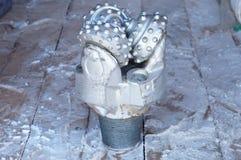 Tricone świderu kawałek Zdjęcie Royalty Free