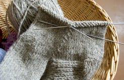 Tricotage. image stock