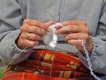 Tricotage Photos libres de droits