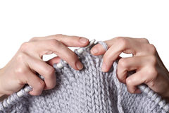 Tricotage Image libre de droits