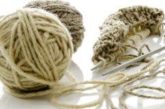 Tricotage Photo libre de droits