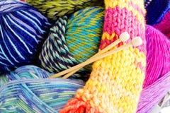 tricotage Photographie stock