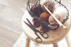 tricotage image stock