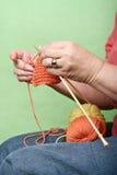 Tricotage Images libres de droits