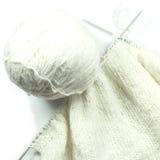 Tricotage avec des rais Image stock