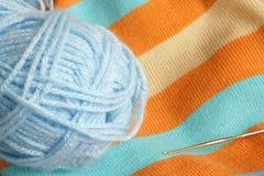 Tricotage coloré Image libre de droits