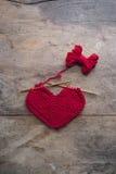 Tricotage d'amour Image libre de droits