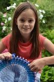 Tricotage de bobine photo stock