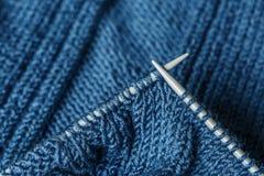 Tricotage et pointeaux Image libre de droits