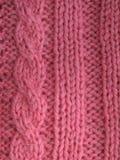 Tricotage tricoté par modèle Images libres de droits