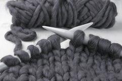 Tricotage volumineux superbe images libres de droits