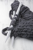 Tricotage volumineux superbe photo stock