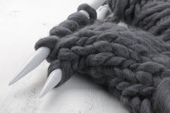 Tricotage volumineux superbe image libre de droits