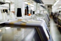 Tricotant et machines de tissage Images libres de droits