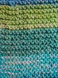 Tricotar manualmente, foto de stock