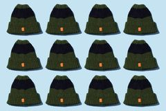 Tricotez le chapeau d'hiver photos libres de droits