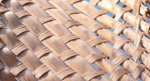 Tricotez les feuilles sèches de noix de coco photos stock