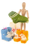Tricots de chéri Image stock